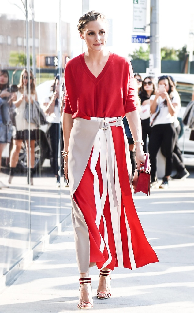 ESC: Celeb Street Style, NYFW, Olivia Palermo