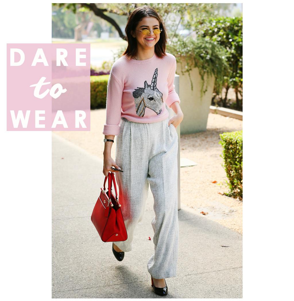ESC: Dare to Wear, Selena Gomez