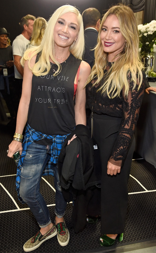 Gwen Stefani & Hilary Duff, Hand in Hand: A Benefit for Hurricane Relief