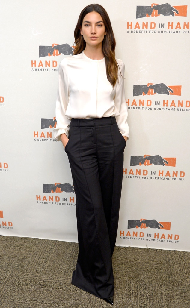 Lily Aldridge, Hand in Hand: A Benefit for Hurricane Relief