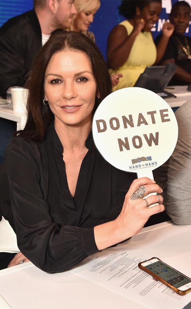 Catherine Zeta-Jones, Hand in Hand: A Benefit for Hurricane Relief