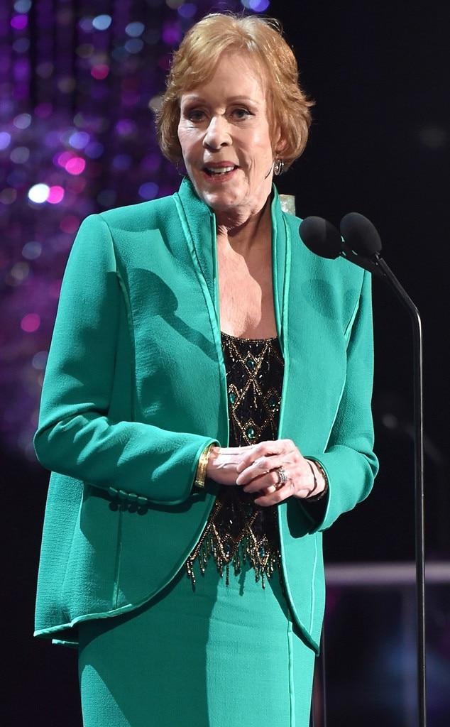 Emmys Presenters, Carol Burnett