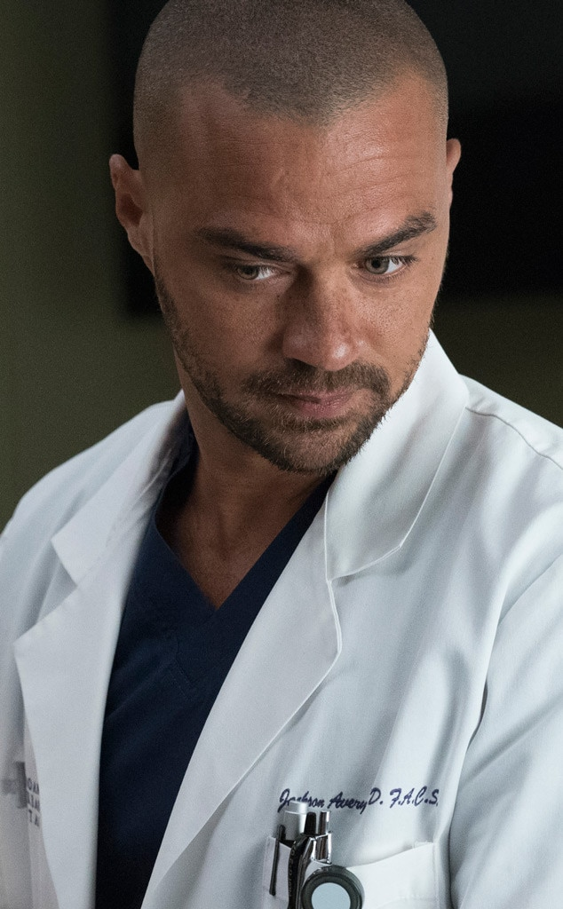 Dr. Jackson Avery (Jesse Williams) from Grey\'s Anatomy Season 14 ...