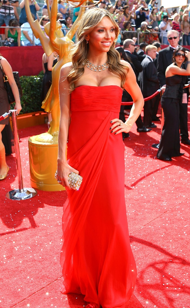 Giuliana Rancic's Emmys Red Carpet Style