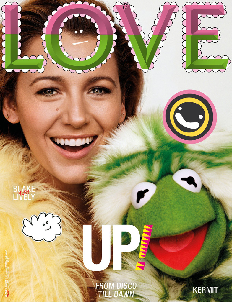 Blake Lively, LOVE Magazine