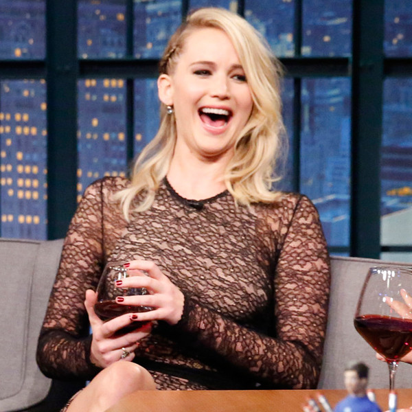 Jennifer Lawrence Is Curious About Taylor & Karlie BFF Drama, Too