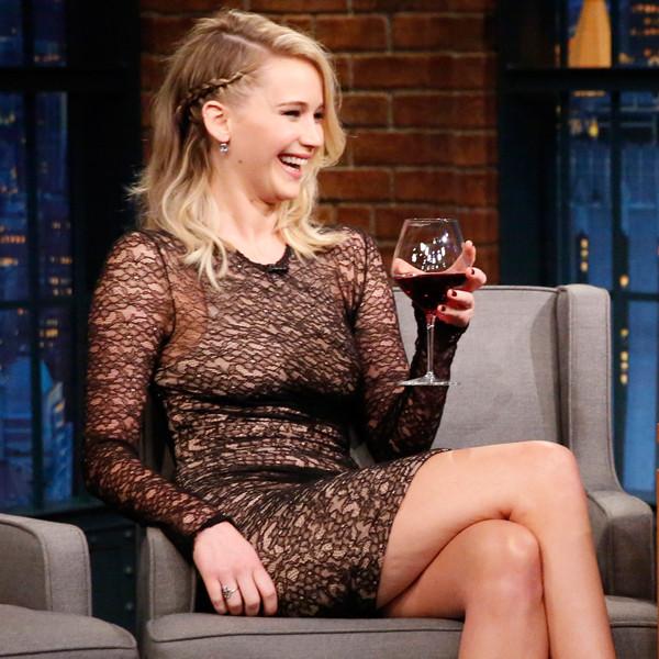 Jennifer Lawrence, Late Night With Seth Meyers