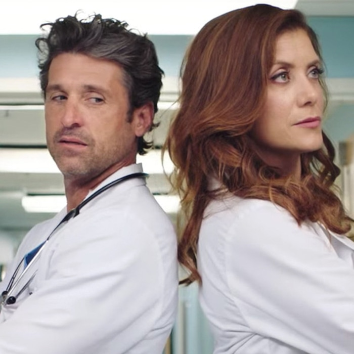 Patrick Dempsey And Kate Walshs Surprise Greys Anatomy Reunion Is