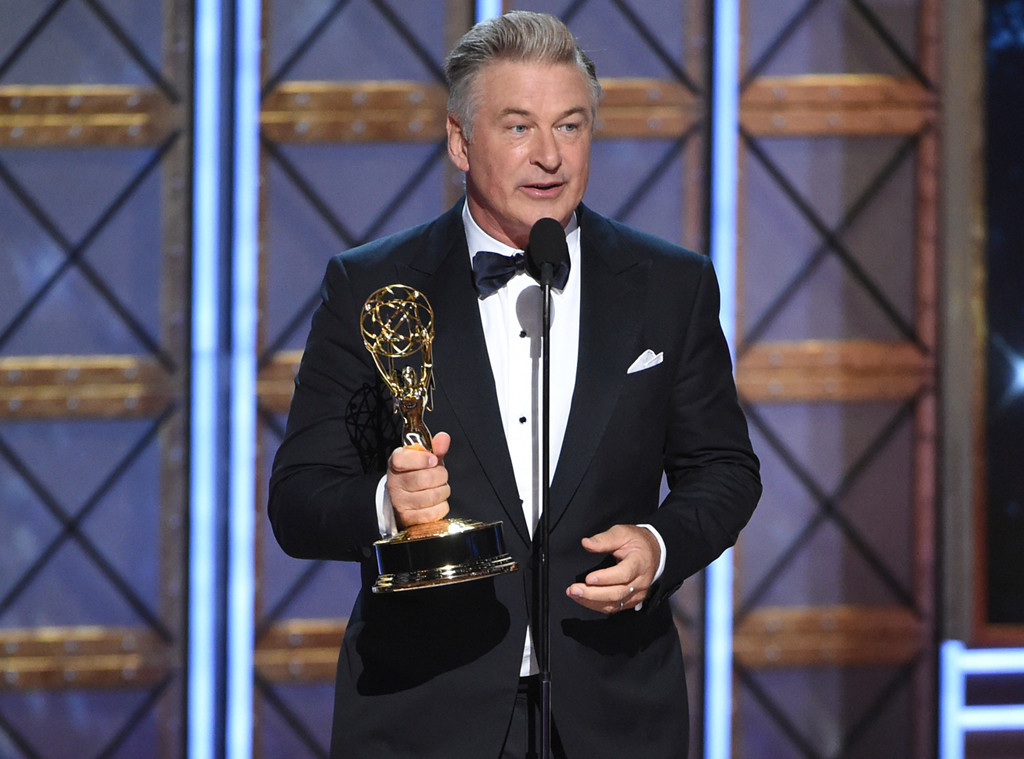 Alec Baldwin, 2017 Emmy Awards, Winners