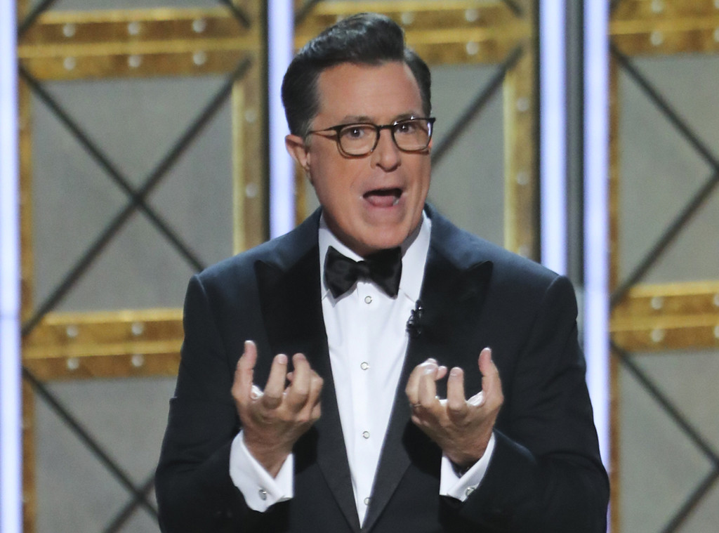 Stephen Colbert, 2017 Emmy Awards, Show