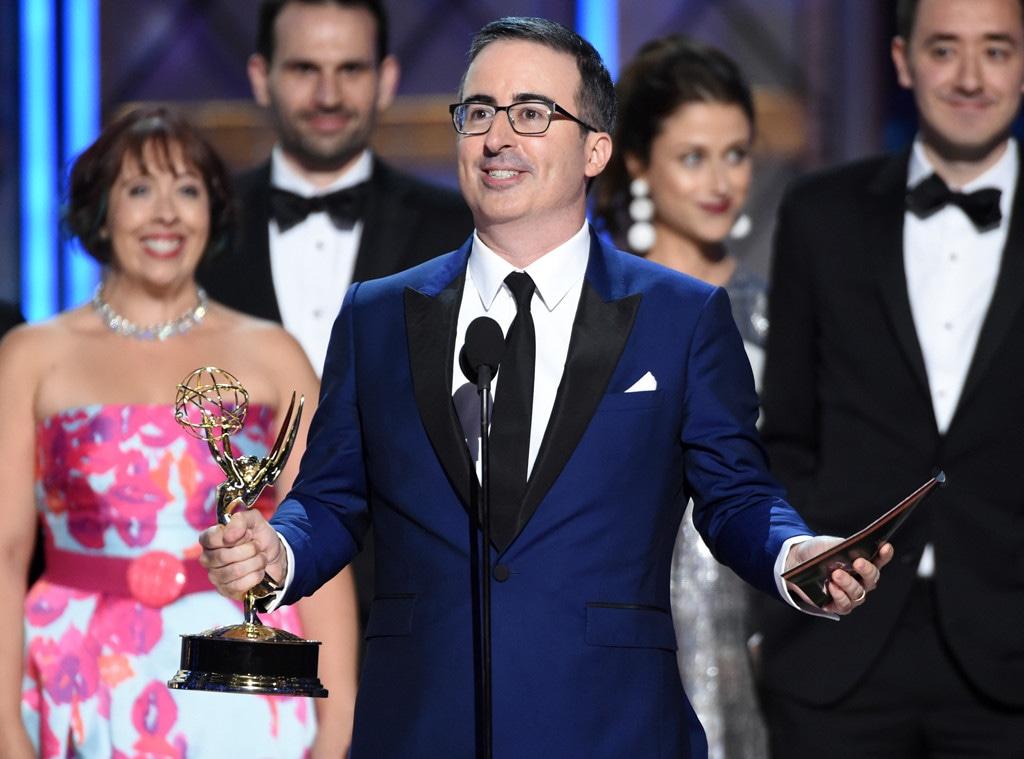 John Oliver, Last Week Tonight, 2017 Emmy Awards, Winners