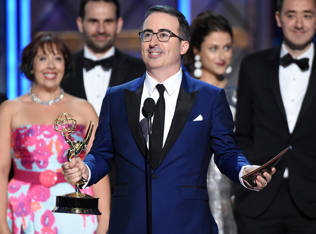 John Oliver, Last Week Tonight, 2017 Emmy Awards, Winners