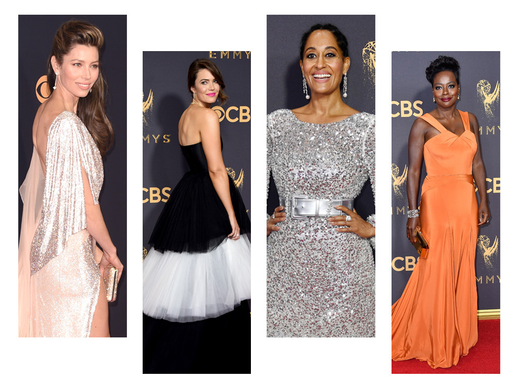 Emmys 2017 Best Dressed Celebs Mandy Moore Tracee Ellis Ross