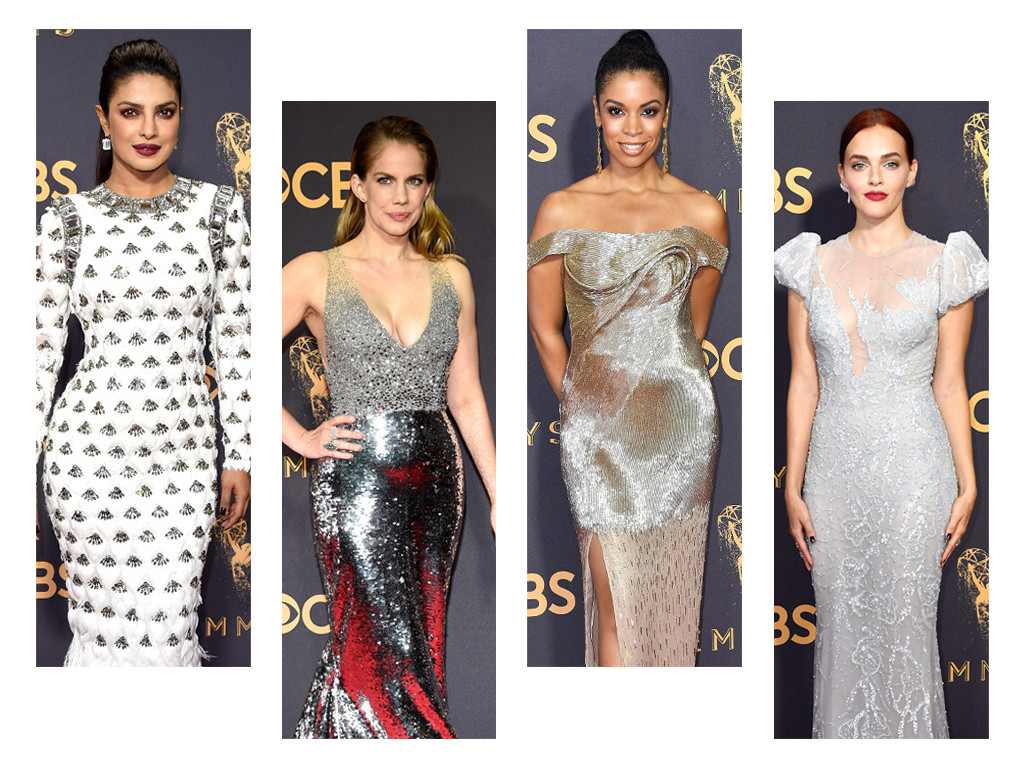 We Ranked All the Silver Dresses Seen at the 2017 Emmys   E! News