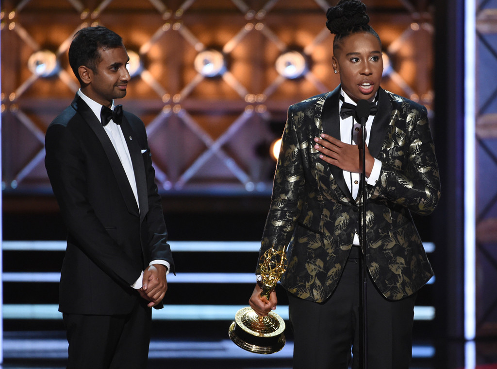 Aziz Ansari, Lena Waithe, 2017 Emmy Awards, Winners