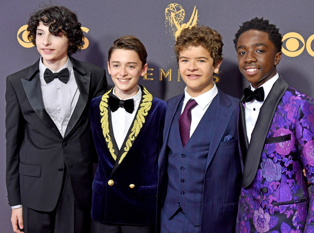 'Stranger Things' kids, 2017 Emmys