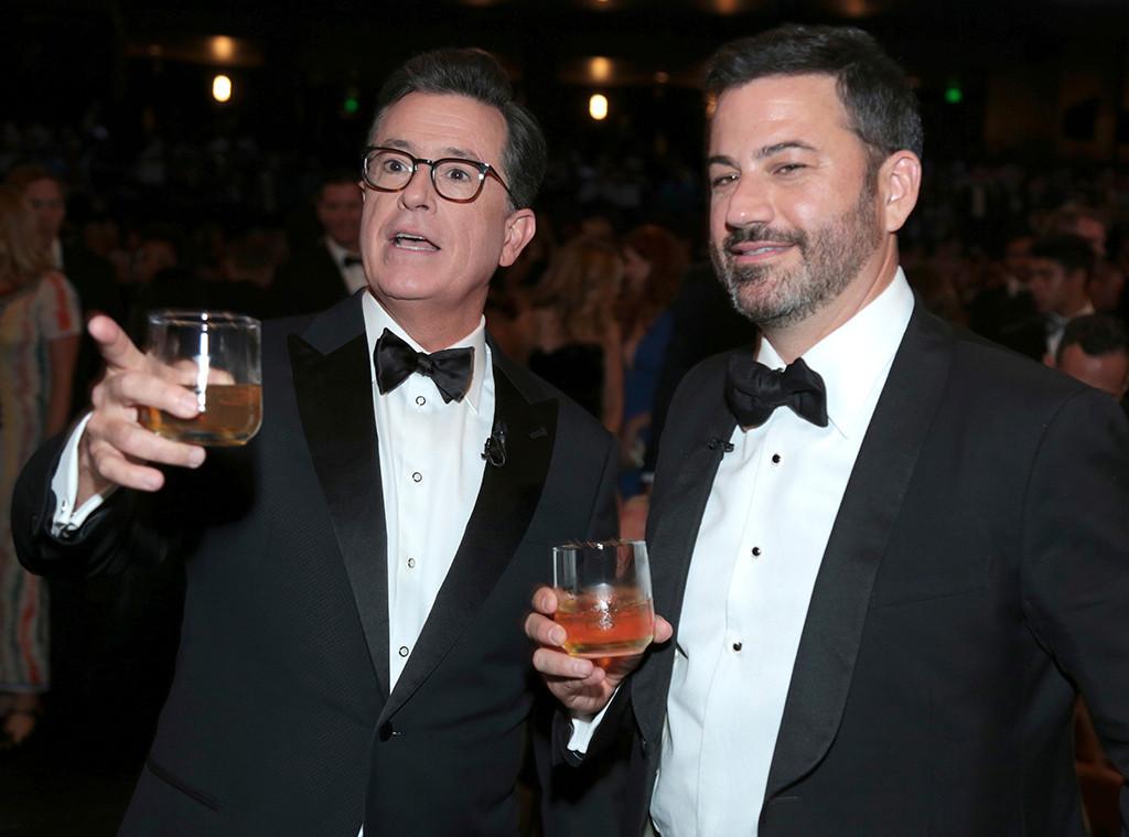 Stephen Colbert, Jimmy Kimmel, 2017 Emmy Awards, Show