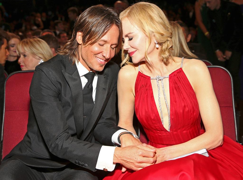 Keith Urban & Nicole Kidman, 2017 Emmys, Candids