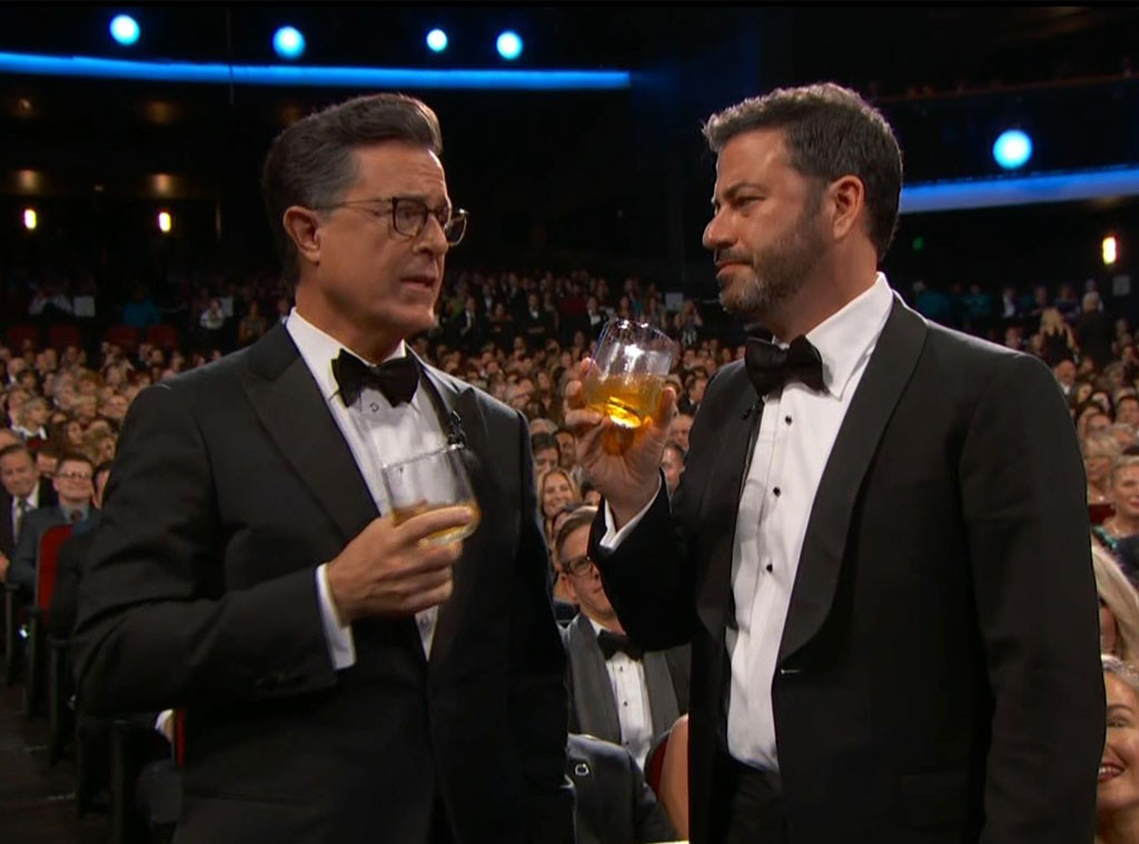 Colbert Moments, Kimmel, GIFs