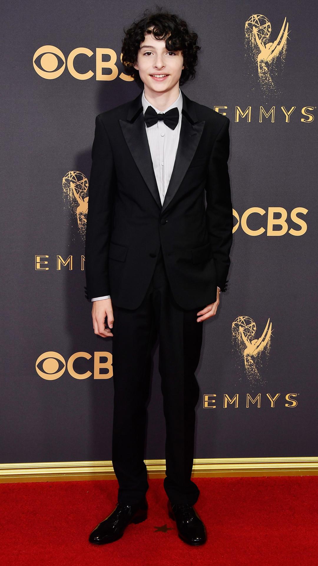 Finn Wolfhard, 2017 Emmy Awards, Arrivals