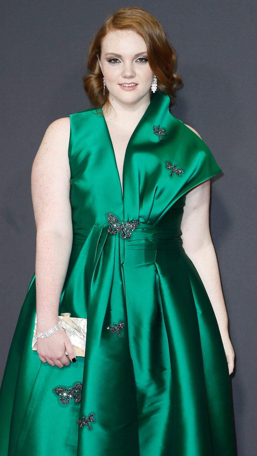 Shannon Purser, 2017 Emmy Awards, Arrivals