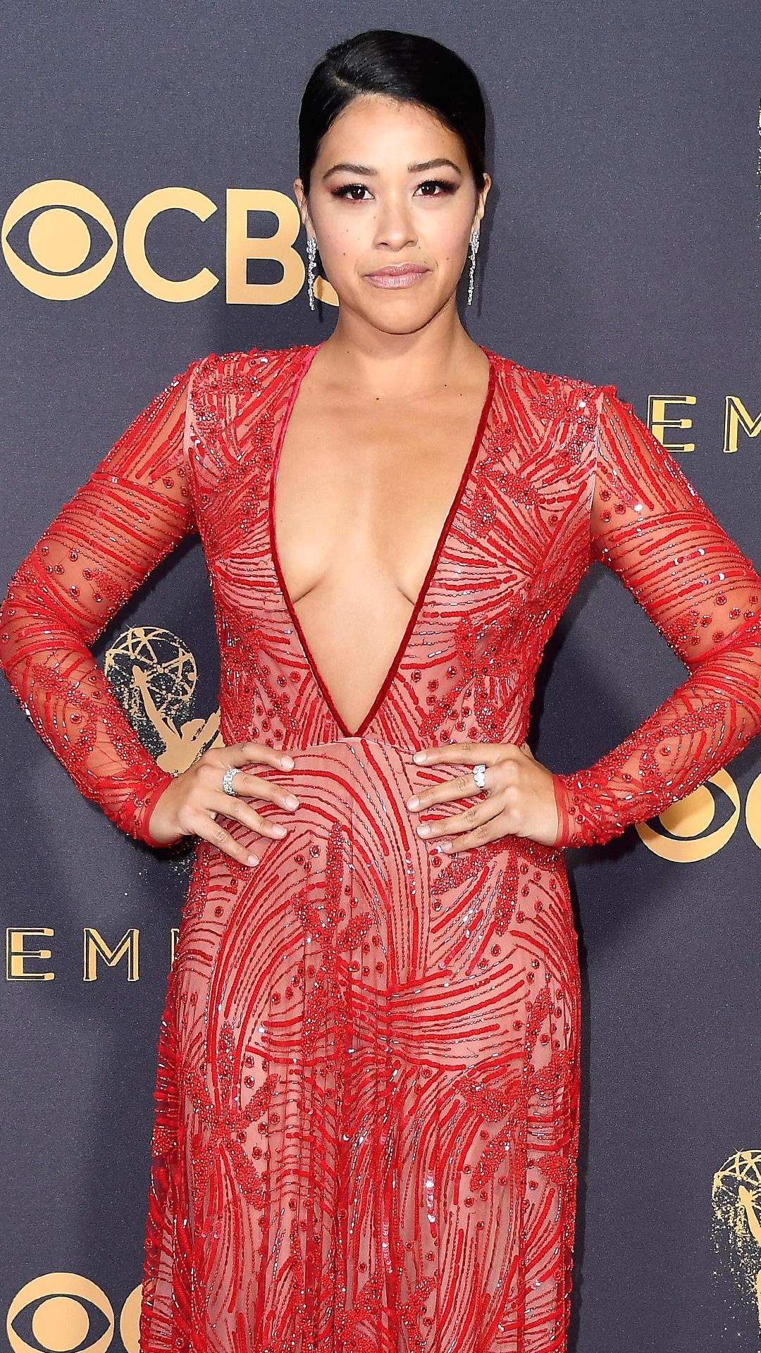 Gina Rodriguez, 2017 Emmy Awards, Arrivals