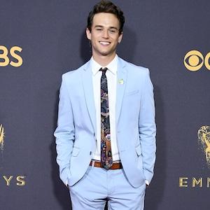 Brandon Flynn, 2017 Emmy Awards, Arrivals