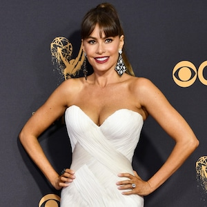 Sofia Vergara, 2017 Emmy Awards, Arrivals