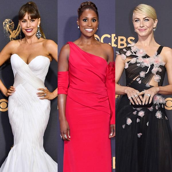 Sofia Vergara, Issa Rae, Julianne Hough, 2017 Emmy Award