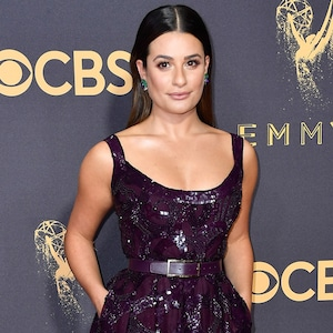 Lea Michele, 2017 Emmy Awards, Arrivals