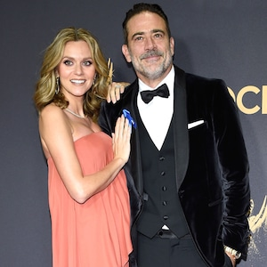 Hilarie Burton, Jeffrey Dean Morgan, 2017 Emmys, Couples
