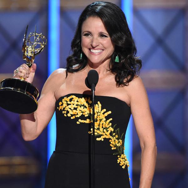 Julia Louis-Dreyfus, 2017 Emmy Awards, Winners