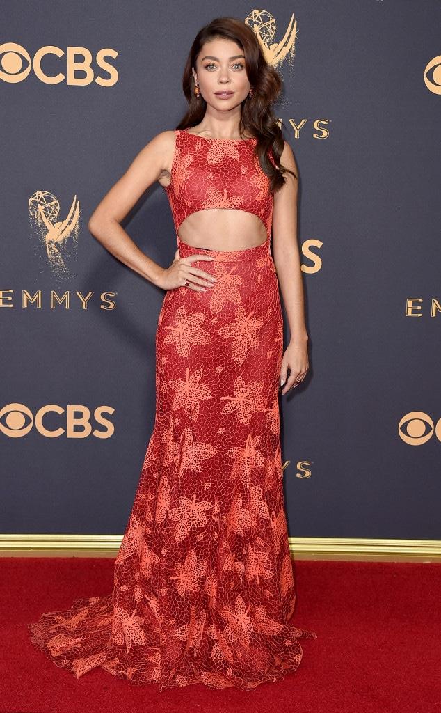 Sarah Hyland, 2017 Emmy Awards, Arrivals