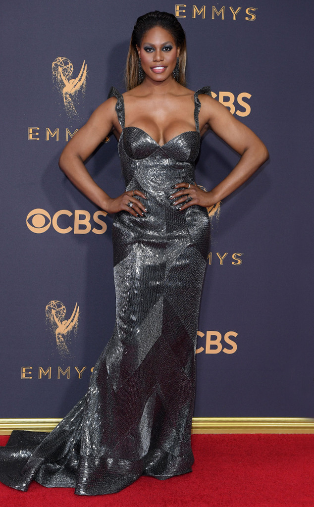 Laverne Cox, 2017 Emmy Awards, Arrivals