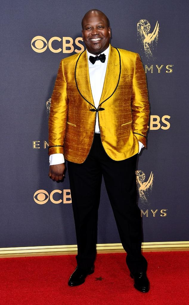 Tituss Burgess, 2017 Emmy Awards, Arrivals