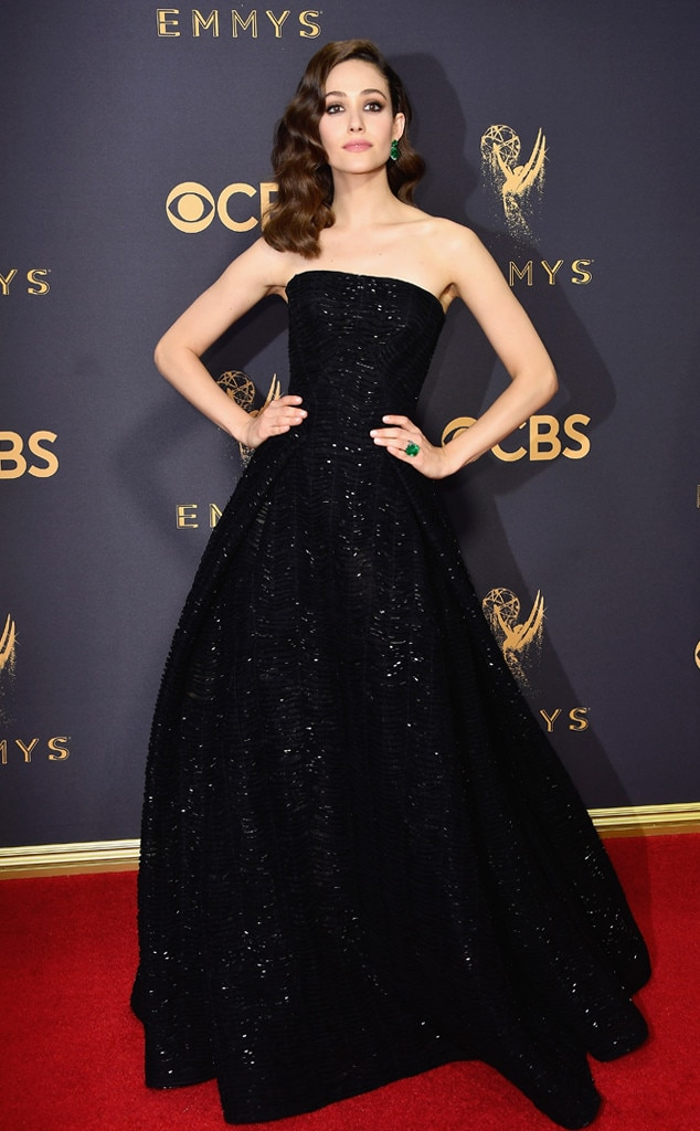 Emmy Rossum, 2017 Emmy Awards, Arrivals