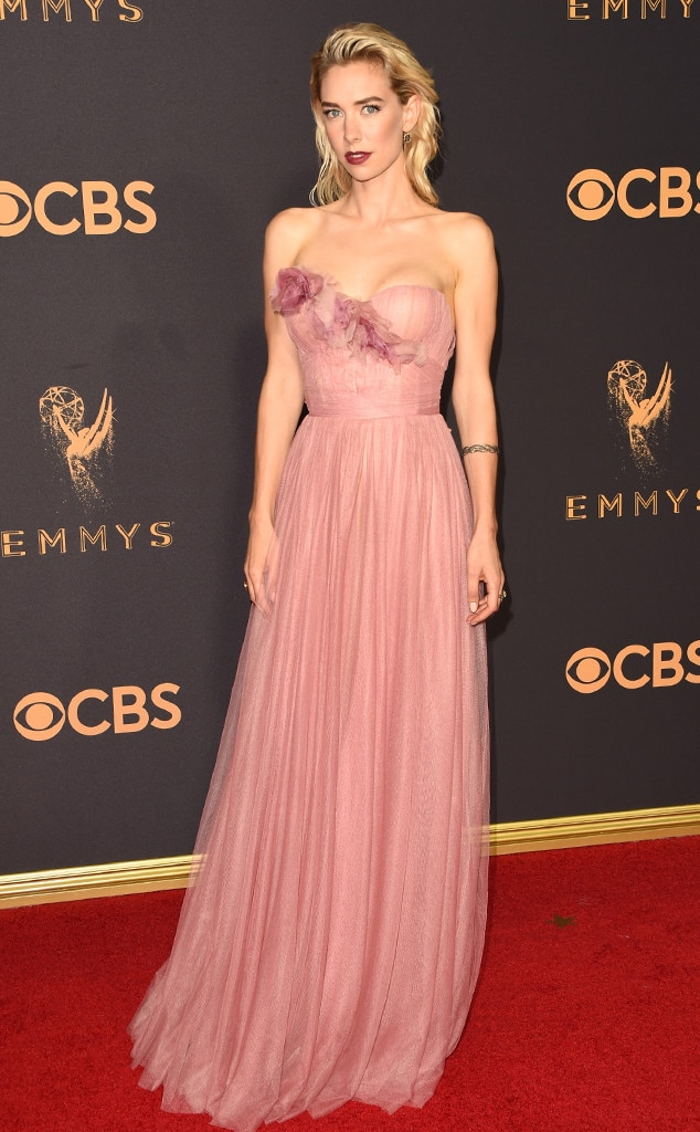 Vanessa Kirby From 2017 Emmys Red Carpet Arrivals E News