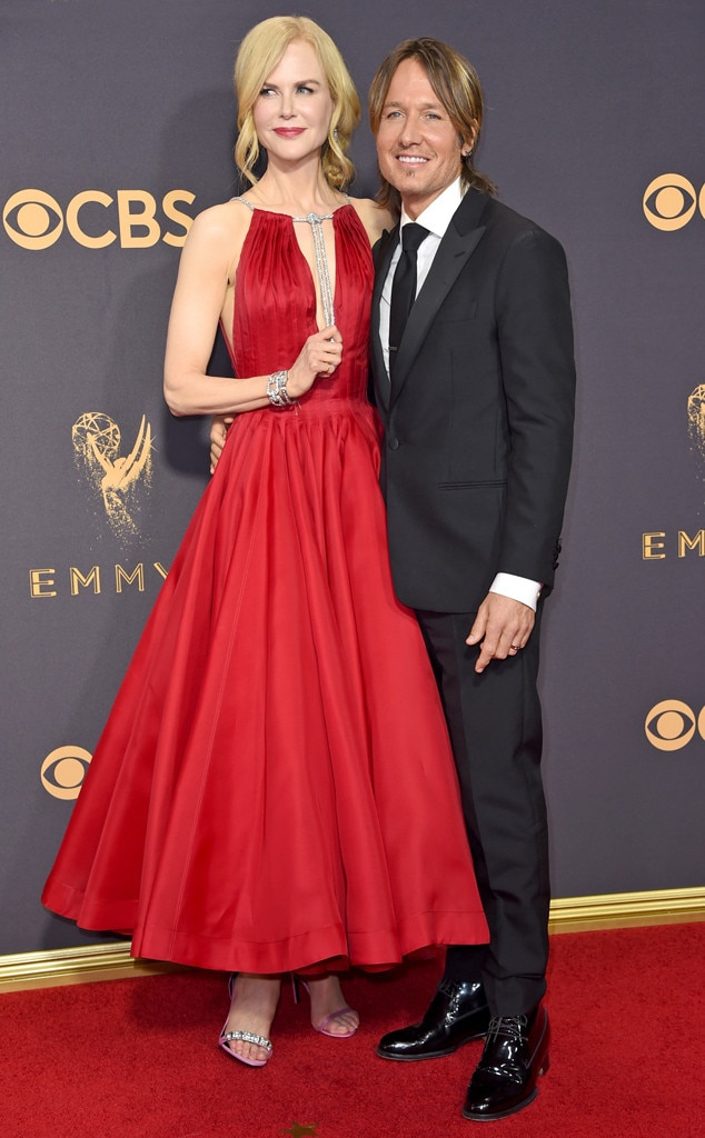 Nicole Kidman & Keith Urban, 2017 Emmys, Couples