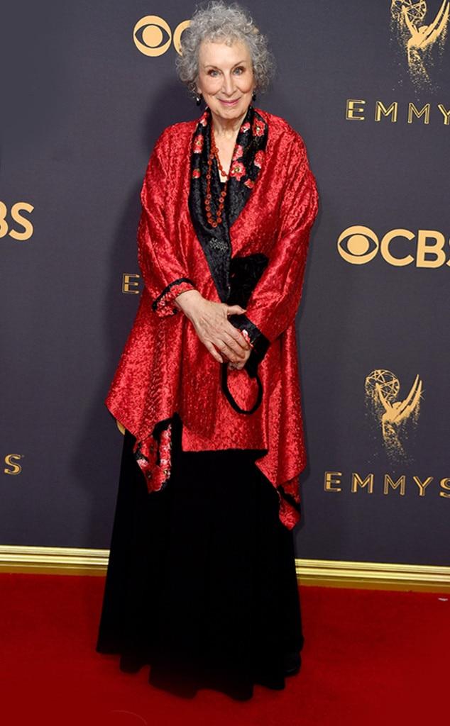 Margaret Atwood, 2017 Emmy Awards, Arrivals