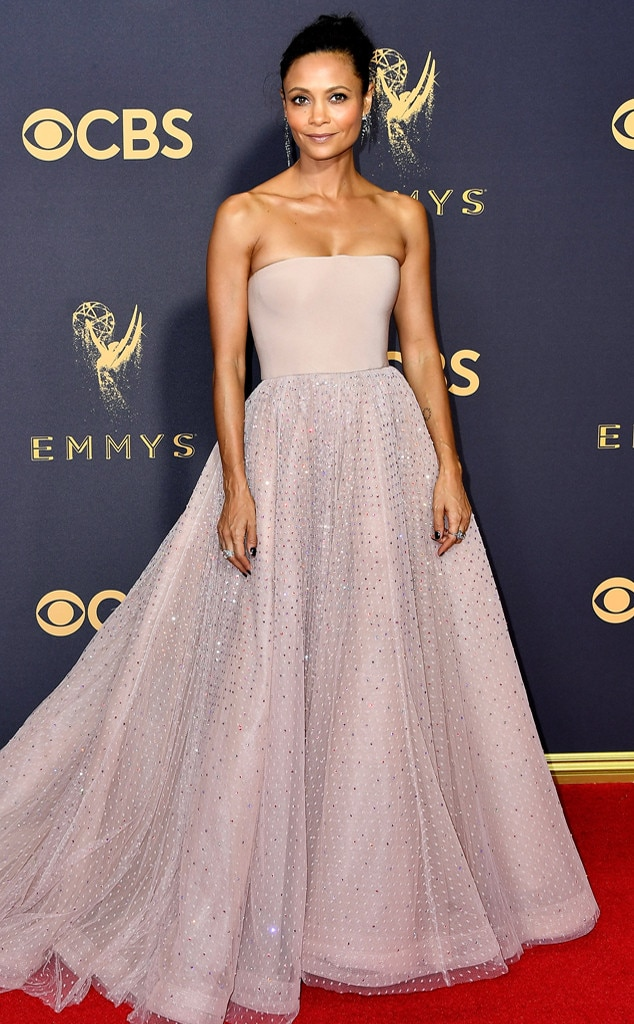 Thandie Newton, 2017 Emmy Awards, Arrivals