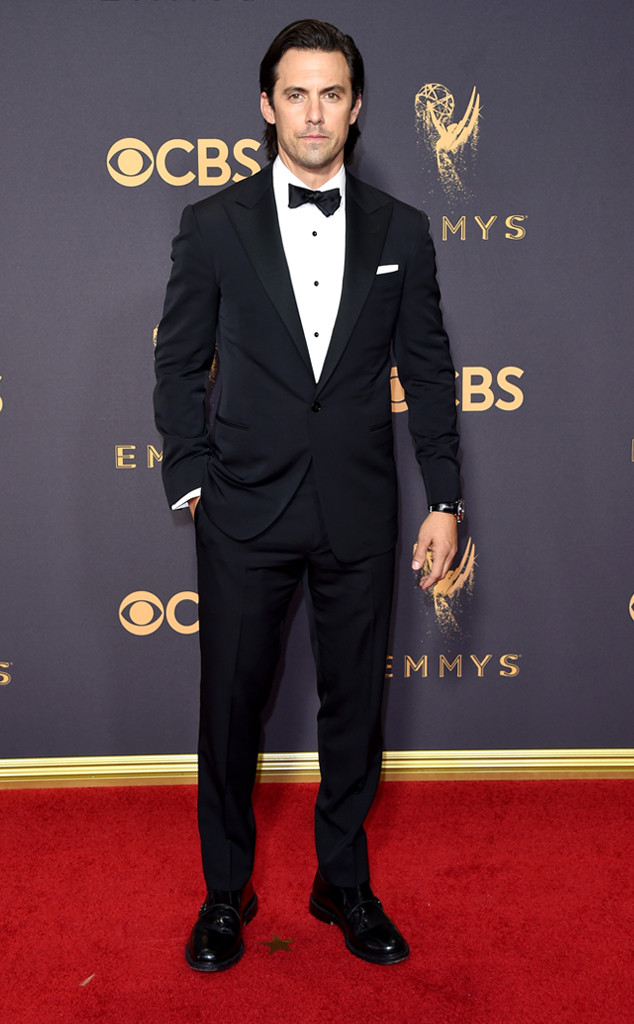 Milo Ventimiglia, 2017 Emmy Awards, Arrivals