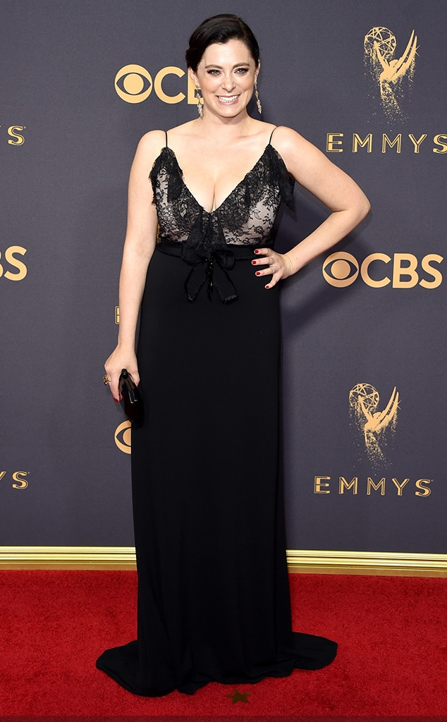 Rachel Bloom, 2017 Emmy Awards, Arrivals