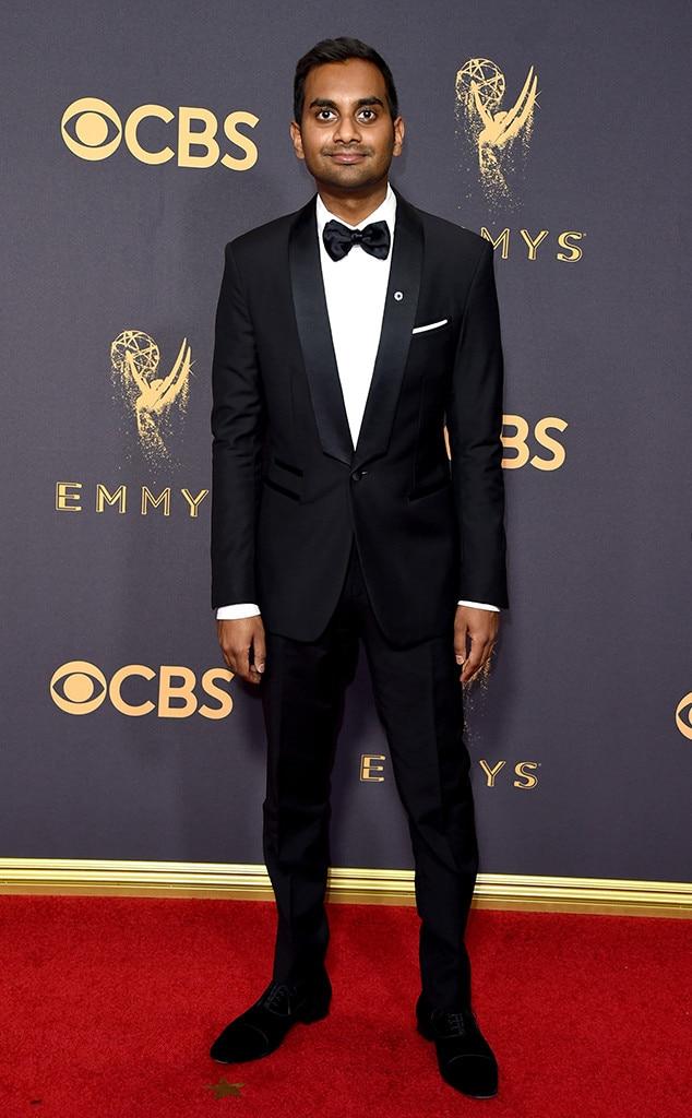Aziz Ansari, 2017 Emmy Awards, Arrivals