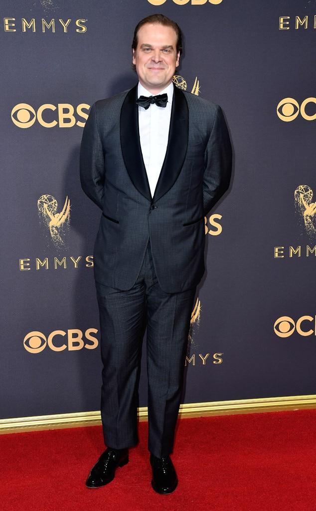 David Harbour, 2017 Emmy Awards, Arrivals