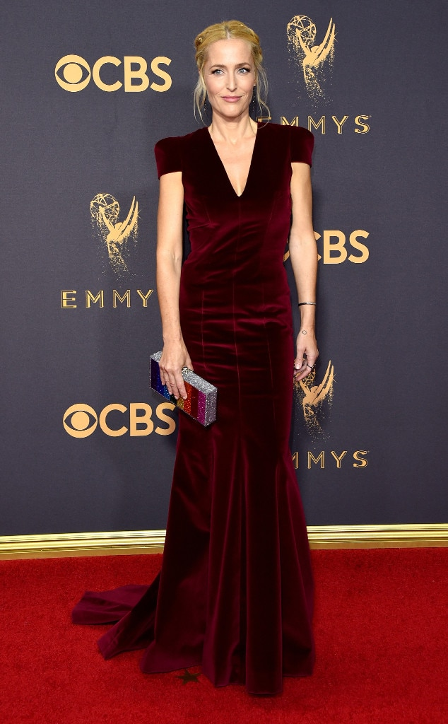 Gillian Anderson, 2017 Emmys, Arrivals