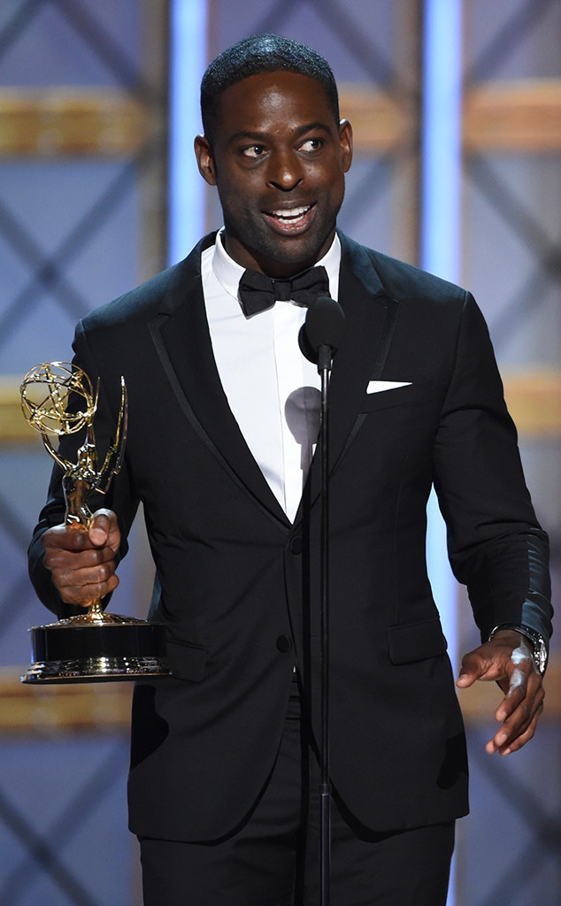 Sterling K. Brown, 2017 Emmy Awards, Winner