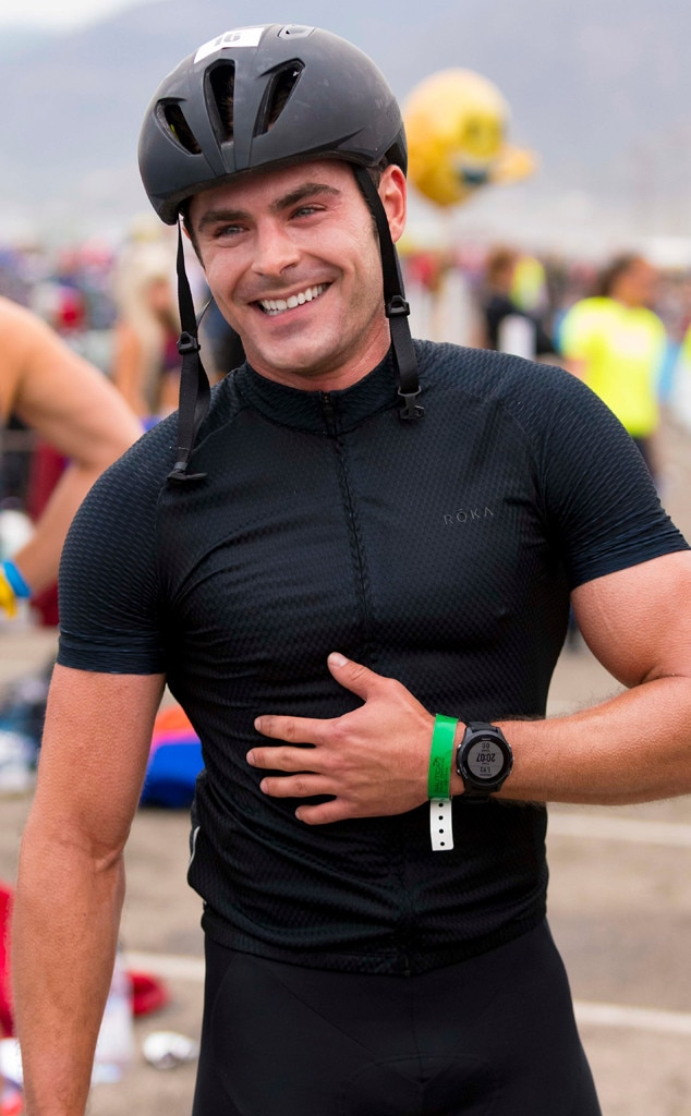 Zac Efron -  In addition to participating in the Nautica Malibu Triathlon presented by Equinox, the actor also helped the event raise more than $1.1 million dollars for Children's Hospital Los Angeles.