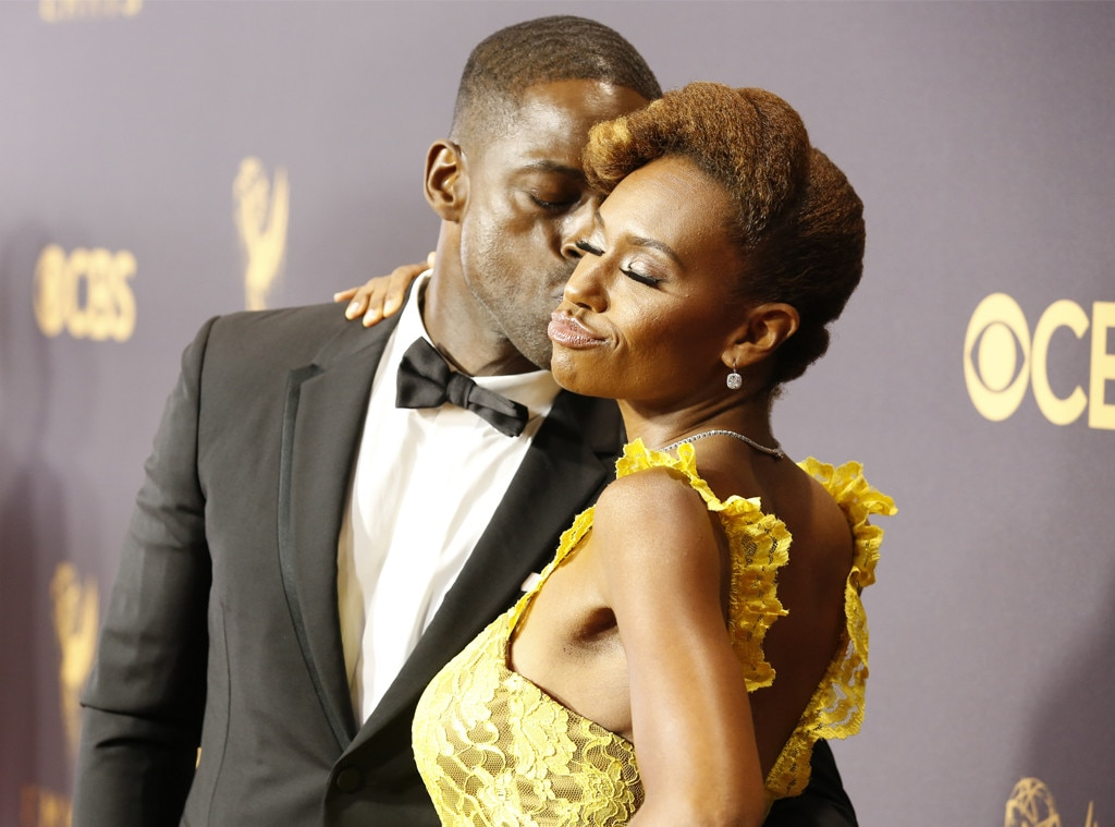 Sterling K. Brown & Ryan Michelle Bathe, 2017 Emmys, Couples