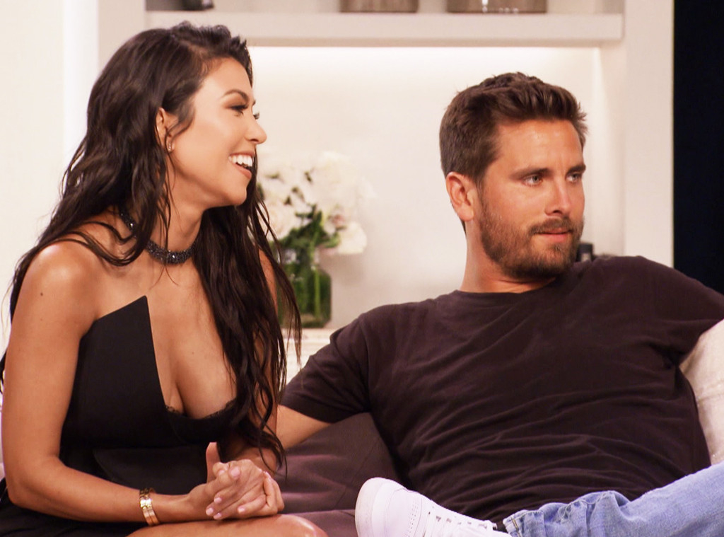 Kourtney Kardashian, Scott Disick, KUWTK