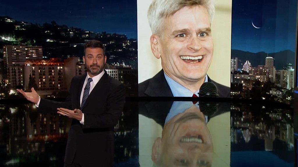 Jimmy Kimmel, Sen. Bill Cassidy